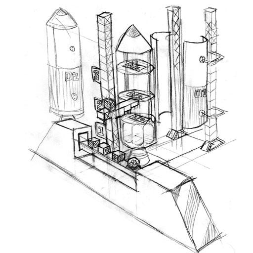 Ballistic Balance concept sketch