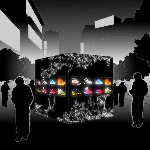 Nike Streetcubes concept sketch