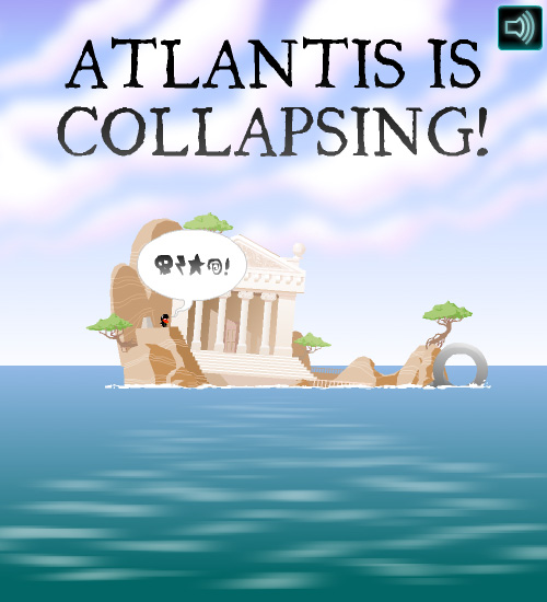 Atlantis is collapsing!