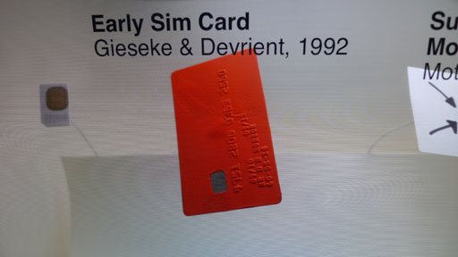 Sim card labelling demo